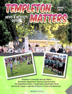 The new edition of Templeton Matters will be delivered in September 2012.