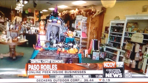 KCOY features Paso Robles marketing company Access Publishing in segment on new online virtual tours