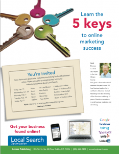 Local SEO presentation flyer
