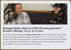 Scott Brennan on KVEC