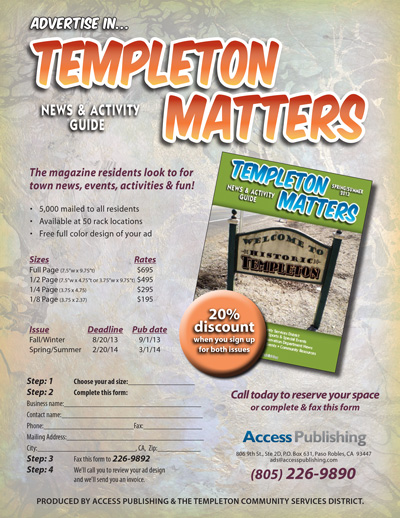 templeton activity guide