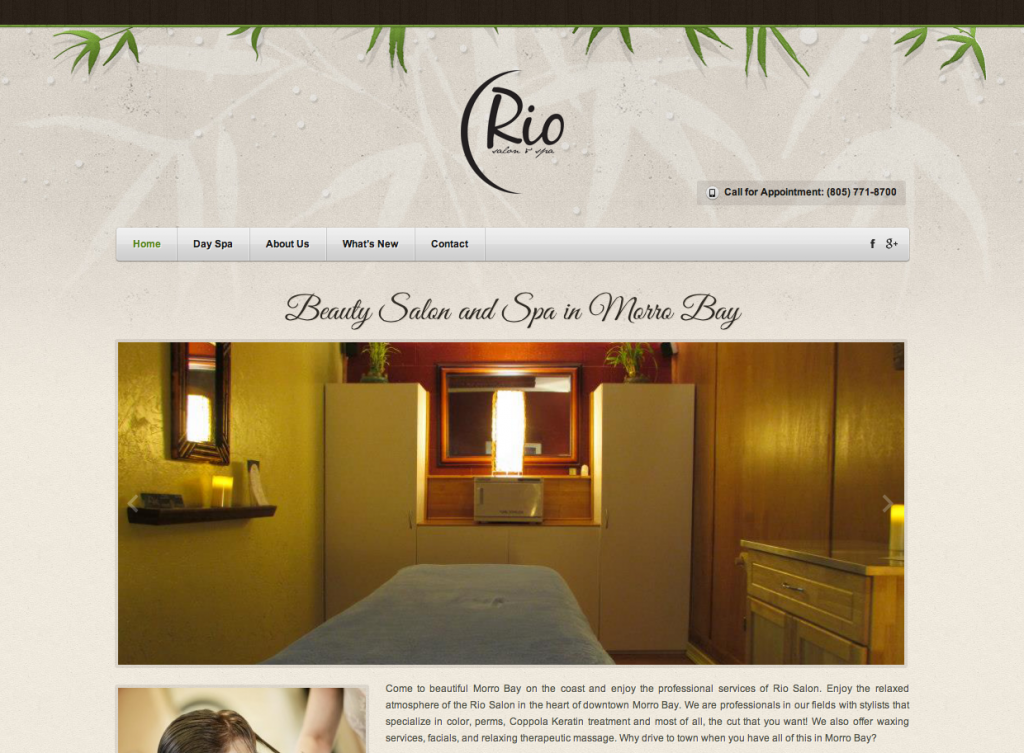 web design on the Central Coast