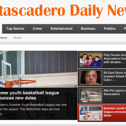 Access Publishing launches Atascadero Daily News