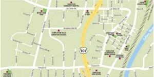 Templeton-Map