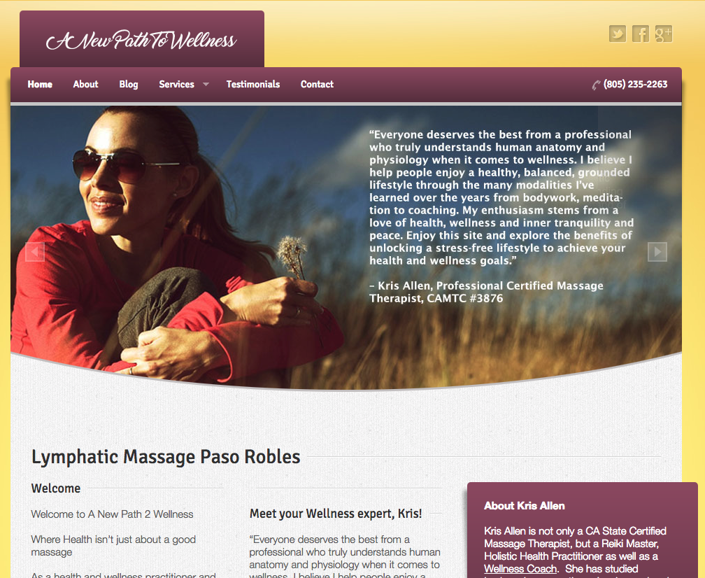 SEO in Paso Robles – A tune up for Massage Paso Robles