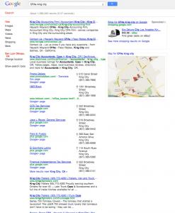 website development in king city