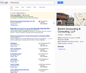 access publishing - dominate google search results