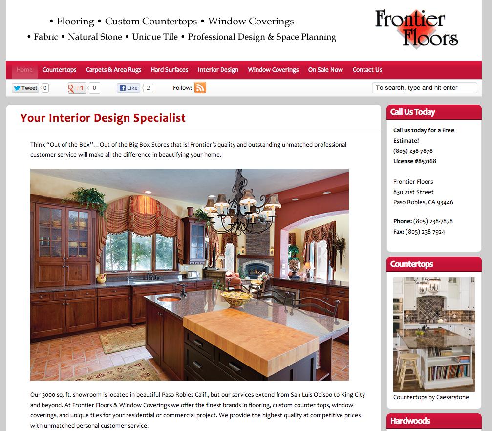 local business web design central coast