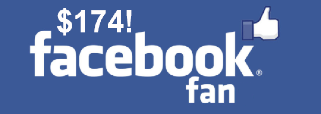 how much is a facebook fan worth?