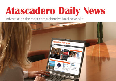 Advertising now available on Atascadero Daily News