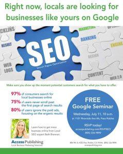 SEO Google Seminar