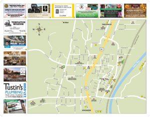 Templeton Area Map