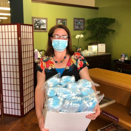 Local companies team up to donate 1,500 more masks for local businesses in need