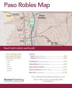 area map paso robles