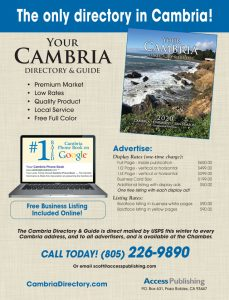 cambria directory sales