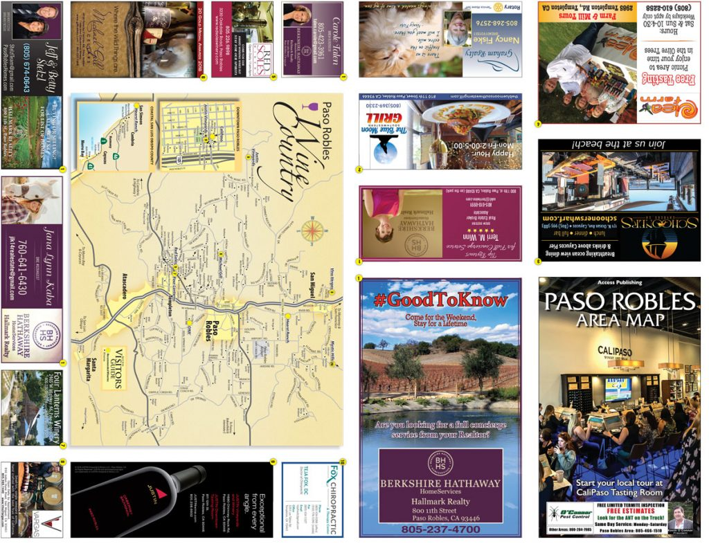 map advertising paso robles